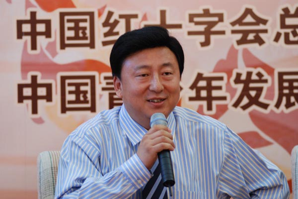 """焦青总裁:""""四爱""""成就中坤慈善事业"""
