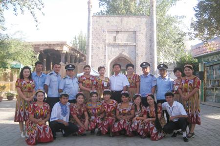 国家旅游局领导考察喀什克州旅游景区