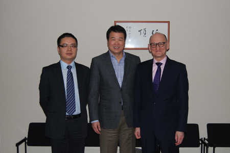 The Chief China Representative of The Trade and Investment Promotion of the Government of Finnish visits Zhongkun Group