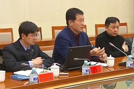 黄怒波董事长与门头沟区委领导进行座谈