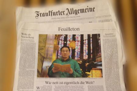 """Germany """"Frankfurt General Newspaper"""": Wie nettist eigentlich die welt?"""
