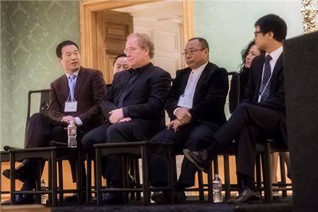 """共话中美文化产业蓝图 黄怒波董事长应邀出席""""跨太平洋文化与贸易""""对话会"""