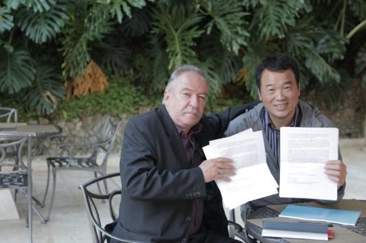 诗人骆英受邀担任麦德林国际诗歌节荣誉主席