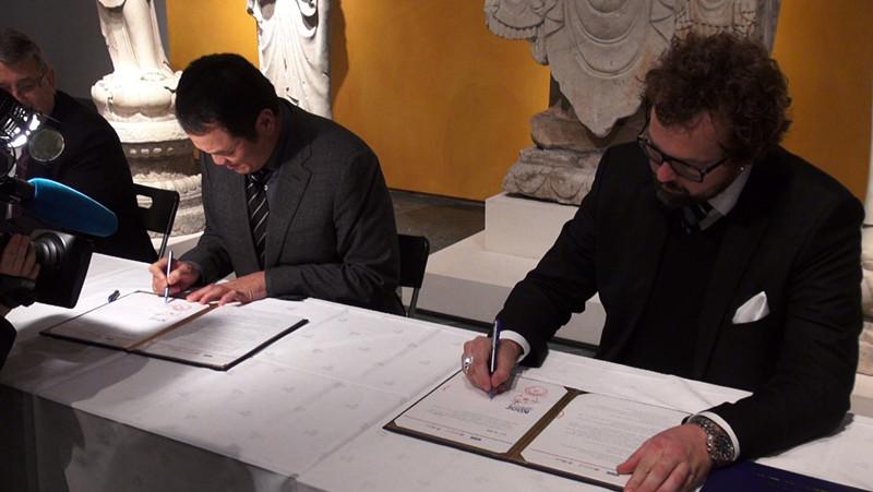 中坤集团创中挪文化交流合作新模式