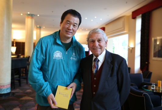 Chairman Huang Nubo, The first member with Chinese nationality in the German ASIL Club