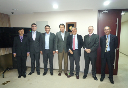 Spain Barceló Group Paying A Visit to Zhongkun