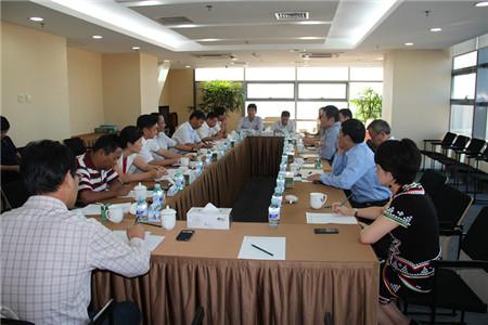 普洱市市委书记带队访问中坤集团