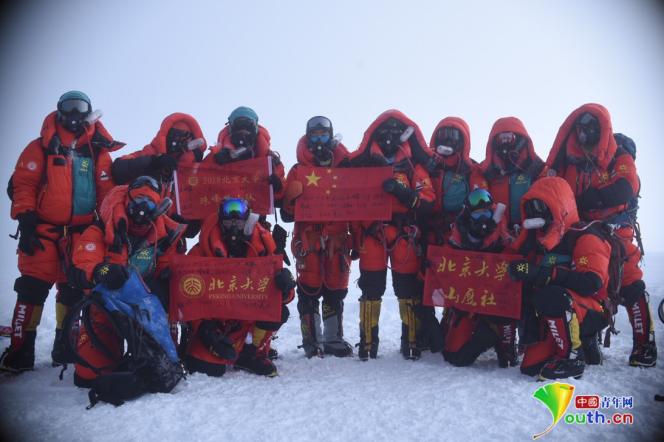 专访黄怒波:北大山鹰社再展翼 8201米史上最高祝福为国庆生